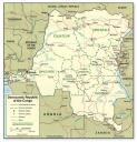 Cartina Congo